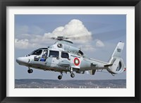 Eurocopter AS-565MB Panther prepares for landing Fine Art Print