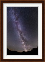 The summer Milky Way in southern Alberta, Canada Fine Art Print