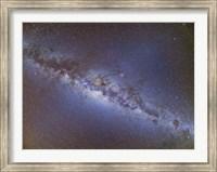 Full frame view of the Milky Way from horizon to horizon Fine Art Print