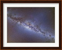 Full frame view of the Milky Way from horizon to horizon Fine Art Print