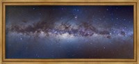 Panorama view of the center of the Milky Way Fine Art Print