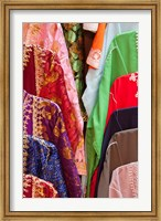 Caftan Textiles, Fes Medina, Morocco Fine Art Print
