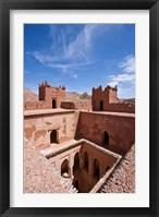 Deserted kasbah on the Road of a Thousand Kasbahs, Tenirhir, Morocco Fine Art Print