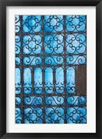 Door detail, Rabat medina, Morocco Fine Art Print