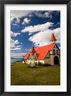 Church, Notre Dame Auxiliaiatrice, Mauritius Fine Art Print