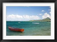 Fishing Boat, Trou D'Eau Douce, Mauritius Fine Art Print