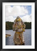 Hindu Shivaratri temple, Mauritius Fine Art Print