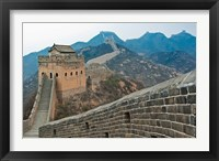 China, Hebei, Luanping, Chengde. Great Wall of China Fine Art Print