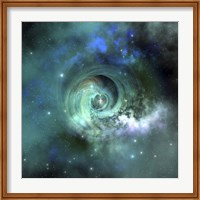 A gorgeous nebula in outer space Fine Art Print