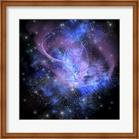 A spacial phenomenon in the cosmos Fine Art Print