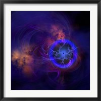 Cosmic forces out in space Fine Art Print