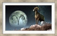 Aries is the first astrological sign of the Zodiac Fine Art Print