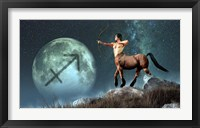 Sagittarius is the ninth astrological sign of the Zodiac Fine Art Print