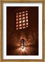 Lantern Light, Kasbah Ait Ben Moro, Morocco Fine Art Print