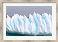 Iceberg pattern off the western Antarctic peninsula Fine Art Print