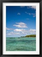 Ile Aux Cerf, East end of Mauritius, Africa Fine Art Print
