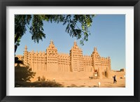Mosque at Djenne, Mali, West Africa Fine Art Print