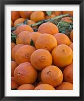 Oranges for sale in Fes market Morocco Fine Art Print