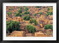 View of the Dogon Village of Songo, Mali Fine Art Print