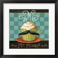 Cafe Moustache V Square Fine Art Print