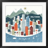 Colorful Los Angeles Fine Art Print