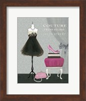 Dress Fitting Boutique III Fine Art Print