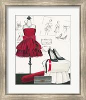 Dress Fitting II Fine Art Print