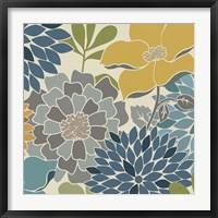 Modern Bouquet Square Fine Art Print