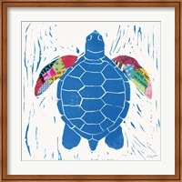 Sea Creature Turtle Color Fine Art Print