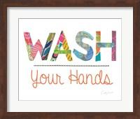 Wash Your Hands Fine Art Print