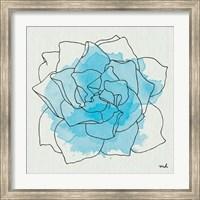 Watercolor Floral II Fine Art Print