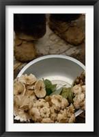 Wild Mushrooms For Sale, Honghe Prefecture, Yunnan Province, China Fine Art Print