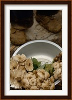Wild Mushrooms For Sale, Honghe Prefecture, Yunnan Province, China Fine Art Print