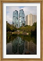 Lippo Office Towers, Hong Kong, China Fine Art Print
