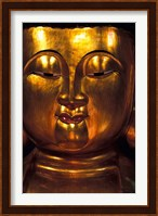 Golden Temple Buddha at Cemetary, Hong Kong Fine Art Print