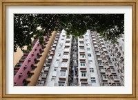Apartments, Hong Kong, China Fine Art Print