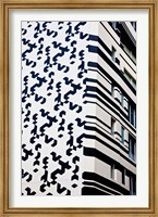 Close up of Building, Hong Kong, China Fine Art Print