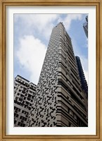 Building, Hong Kong, China Fine Art Print