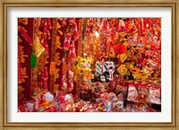 Chinese Ornaments, Hong Kong, China Fine Art Print