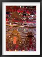 Man Mo Buddhist Temple, Hong Kong, China Fine Art Print