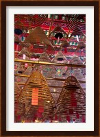 Man Mo Buddhist Temple, Hong Kong, China Fine Art Print