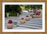 Steps in Hong Kong Park, Hong Kong, China Fine Art Print