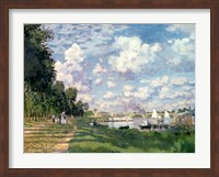 The Marina at Argenteuil, 1872 Fine Art Print