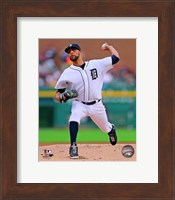 David Price Baseball Pitching Fine Art Print