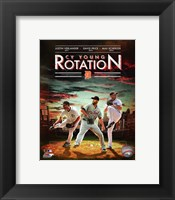Detroit Tigers Cy Young Rotation Composite Fine Art Print
