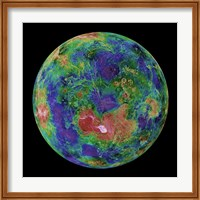 The Hemispheric view of Venus, June 3, 1996 Fine Art Print