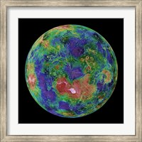 The Hemispheric view of Venus, June 3, 1996 Fine Art Print