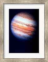 Close-up of Jupiter in space Fine Art Print