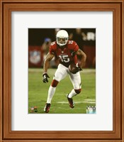 Michael Floyd 2014 with the ball Fine Art Print