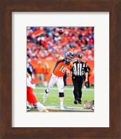 Peyton Manning 2014 Passing the ball Fine Art Print